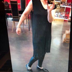 Rick Owens Dresses - Rick Owens Lilies black cashmere silk mini top 40